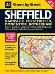 Sheffield Midi (Aa Street By Street) (Aa Street By Street) - A.A. Publishing