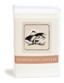 Remembering Santa Fe Notecards (gray) - Willa Clark