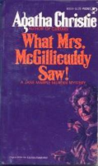 What Mrs. McGillicuddy Saw - Agatha Christie