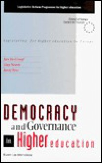 Democracy and Governance in Higher Education, Legislating for Higher Education in Europe - Jan Groof