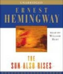 The Sun Also Rises - Ernest Hemingway, William Hurt