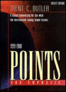 Points for Emphasis 1999-2000 - Trent C. Butler