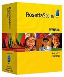 Rosetta Stone Version 3 Swedish Level 1, 2 & 3 Set with Audio Companion - Rosetta Stone
