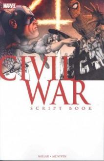 Civil War Script Book - Mark Millar, Steve McNiven