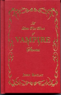 A Little Red Book of Vampire Stories - John Maclay