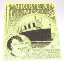European Glimpses - H.P. Lovecraft, Sonia H. Green