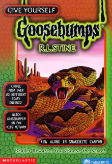 Alone in Snakebite Canyon - R.L. Stine