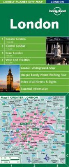 London City Map - Lonely Planet