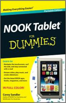 Nook Tablet For Dummies - Corey Sandler