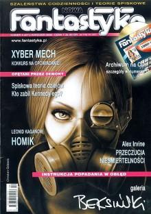 Nowa Fantastyka 271 (4/2005) - Łukasz Orbitowski, Alex Irvine, Leonid Kaganow, Marcin Czub