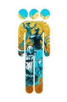 Cowboy Ninja Viking Deluxe HC - Riley Rossmo,A.J. Lieberman