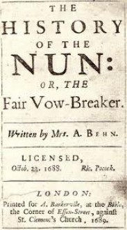 The History of the Nun: Or, the Fair Vow-Breaker - Aphra Behn