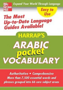 Harrap's Arabic Pocket Vocabulary - Harrap's Publishing