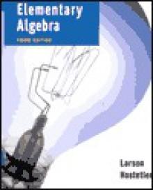 Elementary Algebra - Ron Larson, Robert P. Hostetler, David E. Heyd
