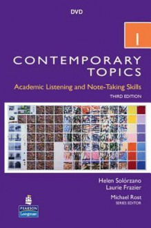 Contemporary Topics 1 DVD - Helen Solorzano, Laurie Frazier