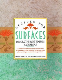 Recipes for Surfaces - Mindy Drucker, Pierre Finklestein