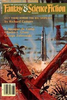 The Magazine of Fantasy and Science Fiction, August 1979 - Edward L. Ferman, Michael Shea, Richard Cowper, Isaac Asimov, L. Sprague de Camp, George Zebrowski, Alexei Panshin