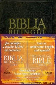 Dios Habla Hoy- Bilingue- Negro (Tab Index) - Anonymous