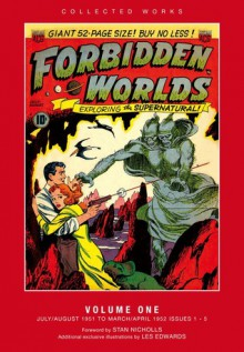ACG Collected Works: Forbidden Worlds, Vol. 1 - Stan Nicholls, Edward Miller, Ken Bald, Frank Frazetta, Al Williamson, Paul Reinman, Emil Gershwin, Mel Kiefer, Edward Moritz