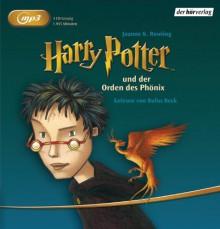 Harry Potter Und Der Orden Des Phönix - Rufus Beck,J.K. Rowling
