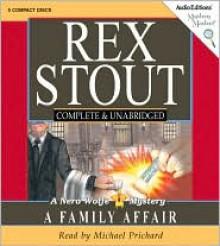 A Family Affair - Rex Stout