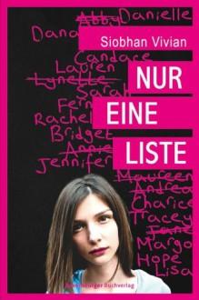 Nur eine Liste (German Edition) - Siobahn Vivian,Claudia Max