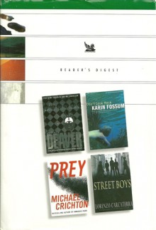 Reader's Digest Condensed Books 2003 - The Vanished Man, Don't Look Back, Prey, Street Boys - Jeffery Deaver, Lorenzo Carcaterra, Michael Crichton, Karin Fossum