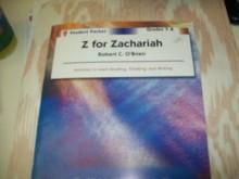 Z for Zachariah - Student Packet by Novel Units, Inc. - Novel Units, Inc.