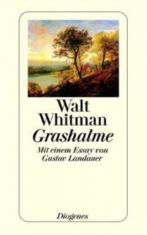 Grashalme - Walt Whitman