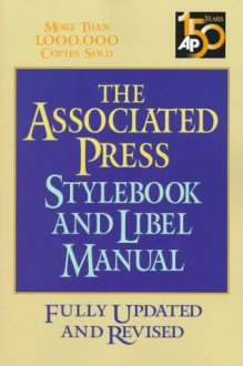 Stylebook and Libel Manual - Associated Press, Norm Goldstein