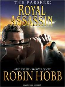 Royal Assassin (Farseer Series #2) - Robin Hobb, Paul Boehmer