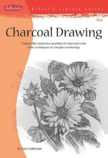 Charcoal Drawing (Artist's Library) - Kenneth C. Goldman