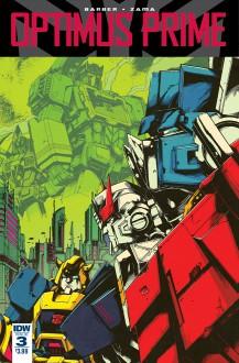 Optimus Prime #3 - John Barber,Kei Zama