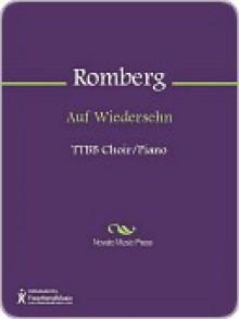 Auf Wiedersehn - Sigmund Romberg