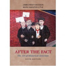 Afterthe Fact 6th (Sixth) Edition byDavidson - Davidson