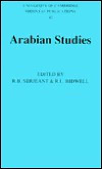 Arabian Studies - R.B. Serjeant