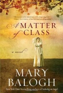 A Matter of Class - Mary Balogh