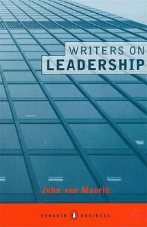 Writers On Leadership - John Van Maurik