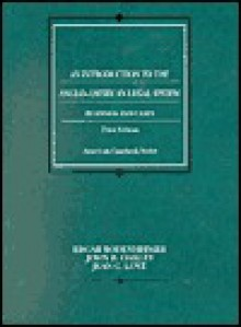 An Introduction to the Anglo-American Legal System: Readings and Cases - Edgar Bodenheimer, John B. Oakley, Jean C. Love