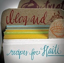 Blog Aid: Recipes for Haiti - Julie Van Rosendaal