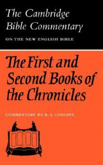 The First and Second Books of the Chronicles - R.J. Coggins