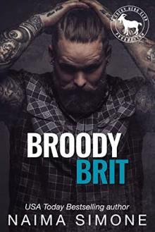 Broody Brit (Cocky Hero Club) - Naima Simone