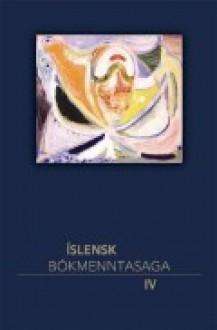 Íslensk bókmenntasaga IV - Guðmundur Andri Thorsson