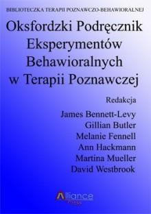 oksfordzki podręcznik eksperymentów behawioralnych w terapii poznawczej