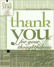 Thank You for Thoughtfulness - Howard Books