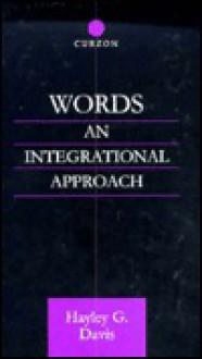 Words - An Integrational Approach - Hayley G. Davis