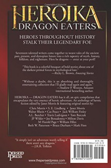 HEROIKA 1: Dragon Eaters (Volume 1) - Janet Morris, Chris Morris, S. E. Lindberg, Walter Rhein, Cas Peace, Jack William Finley, A. L. Butcher, Travis Ludvigson, Tom Barczak, J P Wilder, Joe Bonadonna, Milton Davis, M Harold Page, William Hiles, Beth W. Patterson, Bruce Durham, Mark Finn