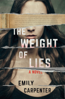 The Weight of Lies: A Novel - Clara Emily Carpenter