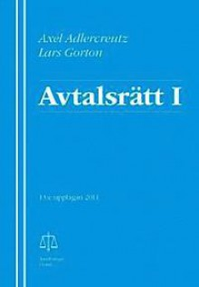 Avtalsrätt I - Axel Adlercreutz