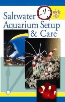 Saltwater Aquarium Setup & Care - David E. Boruchowitz